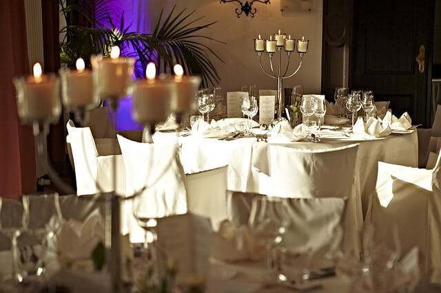 Idealne wnętrze na wesele