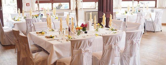 sala weselna aranżacja